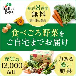 有機野菜 安心野菜 安全野菜のらでぃっしゅぼーや