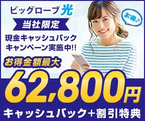 【ビッグローブ光】無線LANルーター&20,000円CBorタブレットから選べる