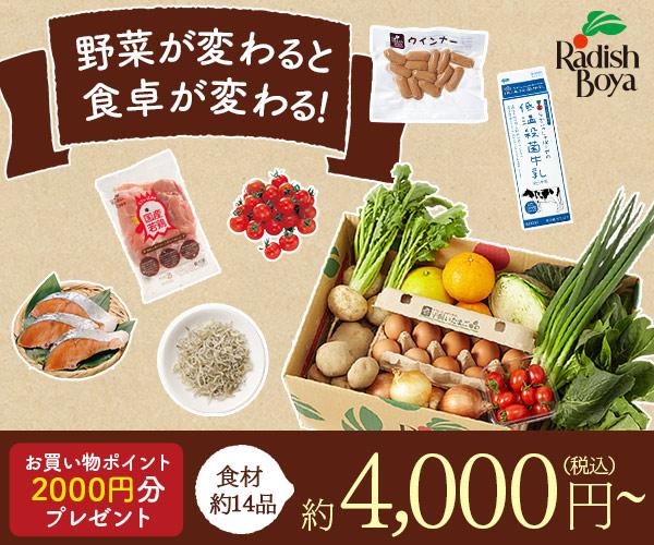 【画像(らでぃっしゅぼーや)(産地限定の野菜をセットにして〜)】産地限定ぱれっと