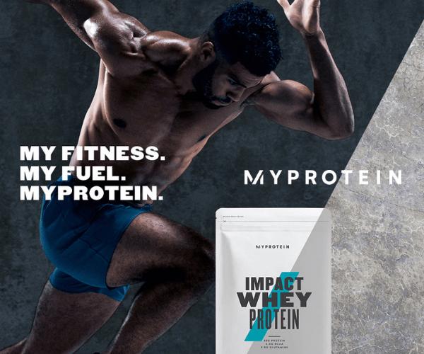 【初回利用】スポーツ栄養ブランド【Myprotein】(マイプロテイン)