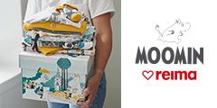 ムーミンのベイビー服セット【ムーミンベイビーボックス】北欧フィンランドの子供服ブランドReima(レイマ)