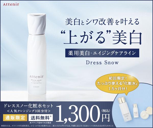 アテニア【ドレススノー化粧水セット】